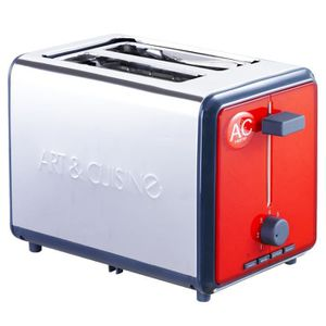 Grille pain toasters rouge achat vente pas cher - Grille pain rouge pas cher ...