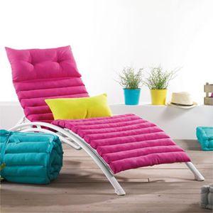 coussin bain de soleil dehoussable achat vente coussin. Black Bedroom Furniture Sets. Home Design Ideas