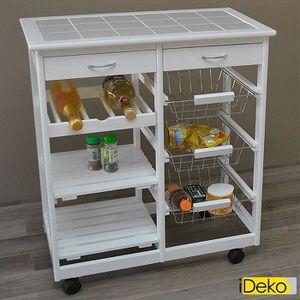 Meuble cuisine exterieur achat vente meuble cuisine exterieur pas cher cdiscount for Desserte de jardin en plastique