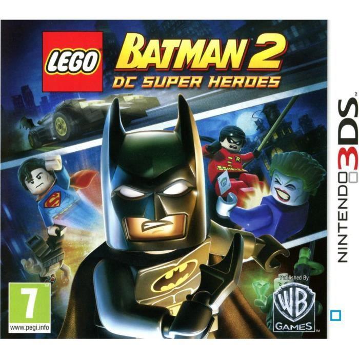Lego Batman 2 Characters Wallpaper Jeux 3ds Lego Batman 2