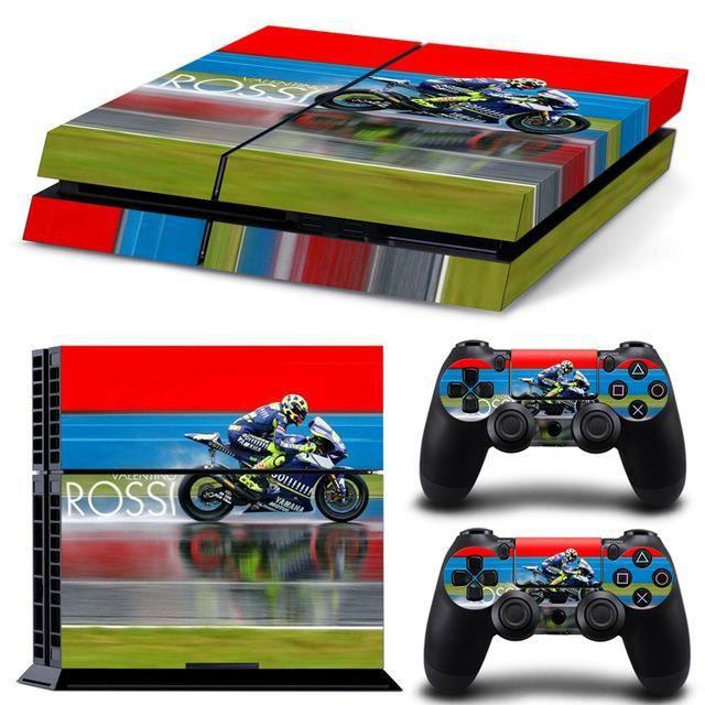 jeux pc video console accessoires skins rossi pour ps playstation  autoco f auc