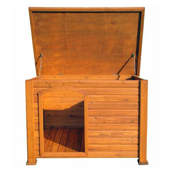 niche chien en sapin teint niche chien achat. Black Bedroom Furniture Sets. Home Design Ideas