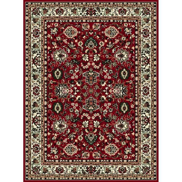Tapis classique 160 x 230 cm bordeaux achat vente tapis cdiscount - Tapis shaggy bordeaux ...