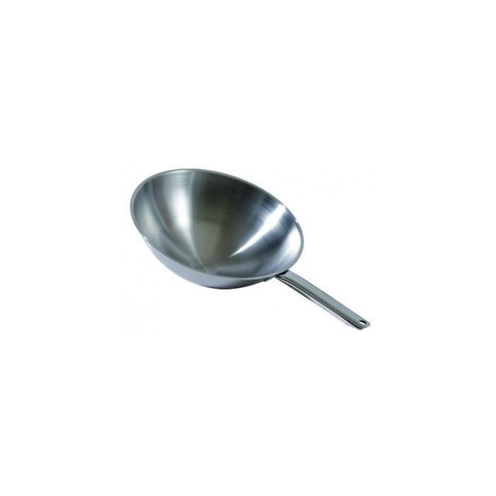 wok tradition 300 350mm 350mm achat vente wok wok. Black Bedroom Furniture Sets. Home Design Ideas