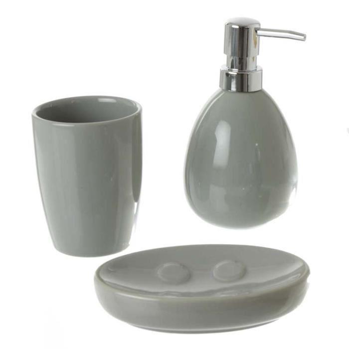 set accessoires paris prix set de 3 accessoires salle de bain gr - Vitrine Magique Accessoire Salle Deau