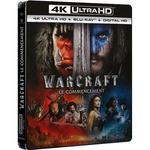 BLU-RAY FILM Blu-ray 4K Warcraft : le commencement - 4K Ultra H