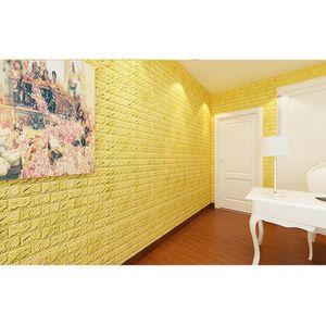 adhesif briques effet 3d achat vente adhesif briques effet 3d pas cher les soldes sur. Black Bedroom Furniture Sets. Home Design Ideas