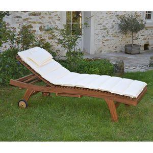 Chaise exterieur teck achat vente chaise exterieur - Matelas d exterieur ...