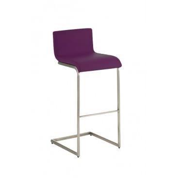 Tabouret de bar design neiva violet achat vente tabouret de bar viole - Tabouret de bar violet ...