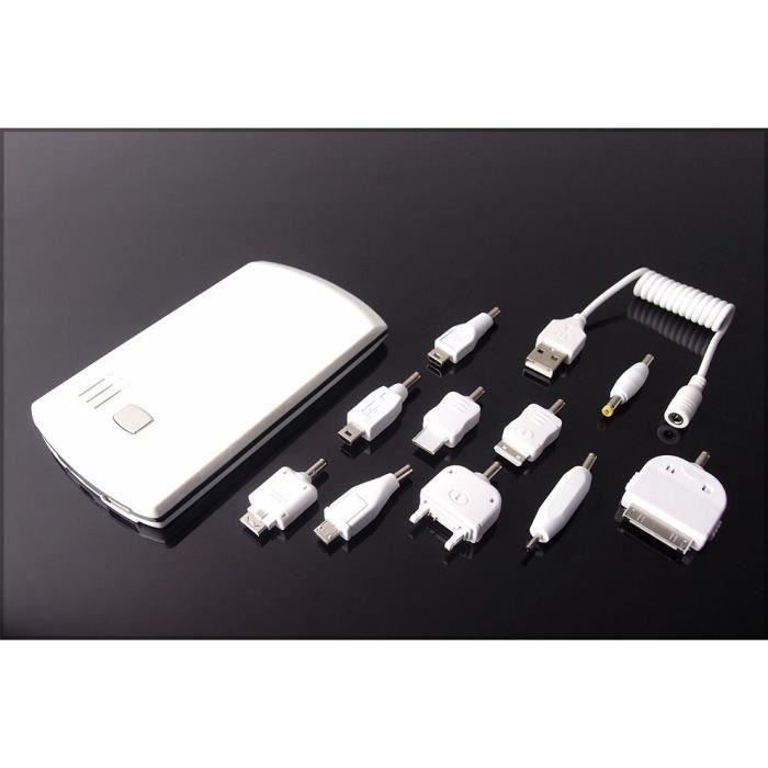 chargeur portable de secours externe powerbank achat. Black Bedroom Furniture Sets. Home Design Ideas