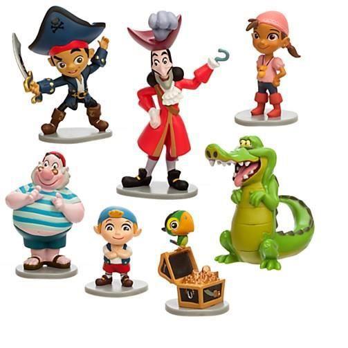 Ensemble de figurines jake et les pirates du pays - Jake et les pirates ...