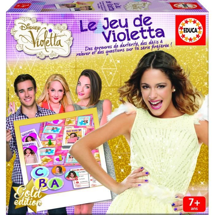 Violetta le jeu de soci t de violetta achat vente jeu - Jeux de fille de violetta ...