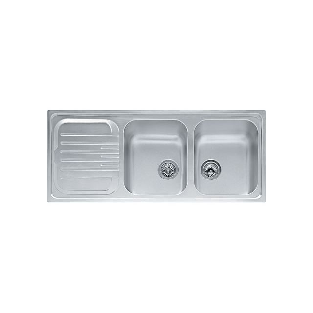 Eviers double cuves franke futuro inox inox de achat for Evier cuisine double