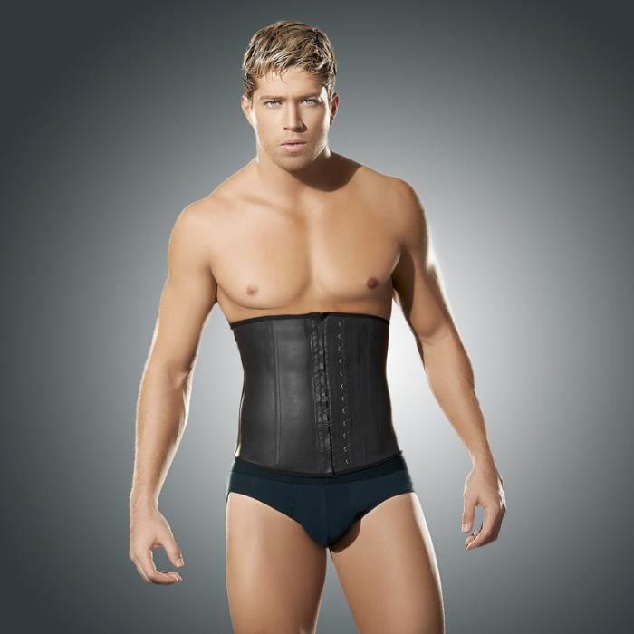 corset serre taille ceinture amincissant homme minceur porte jarretelle mince