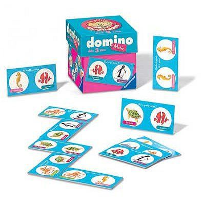 le domino les p 39 tits incollables achat vente dominos cdiscount. Black Bedroom Furniture Sets. Home Design Ideas