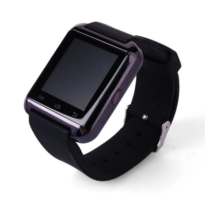 bluetooth montre pr ios android samsung iphone htc achat. Black Bedroom Furniture Sets. Home Design Ideas