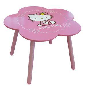 Table et chaise enfant jouet achat vente jeux et jouets pas chers - Table et chaise hello kitty ...