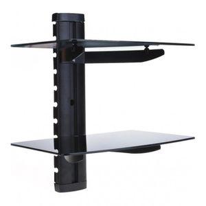etagere murale pour tv achat vente etagere murale pour tv pas cher cdiscount. Black Bedroom Furniture Sets. Home Design Ideas