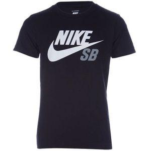 T-SHIRT Tee-shirt Dri-fit ICON LOGO Noir Garçon Nike