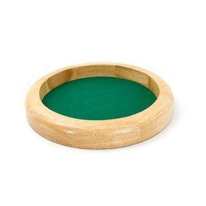 PISTE DE DÉS Smir - Jeu de Cartes - Piste en bois naturel 30 cm