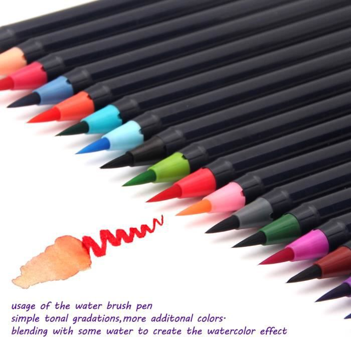 stylo 20 couleurs