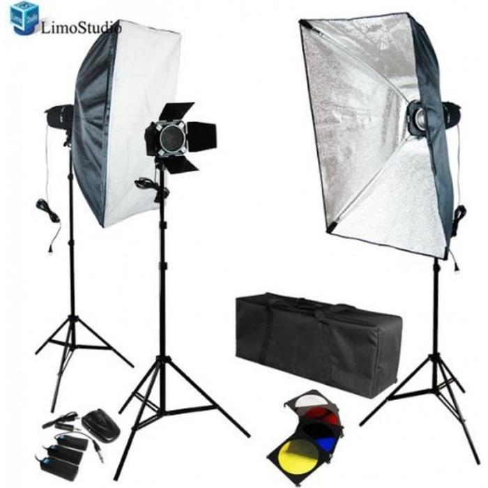 kit d 39 clairage studio photo 540w flashs strob achat vente t l commande photo cdiscount. Black Bedroom Furniture Sets. Home Design Ideas