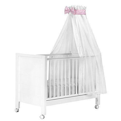 cambrass voile ciel lit 160x 270cm couleur rose achat vente ciel de lit b b 8432377364355. Black Bedroom Furniture Sets. Home Design Ideas