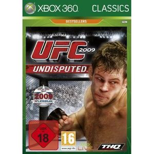 JEUX XBOX 360 UFC 2009 Undisputed Classic