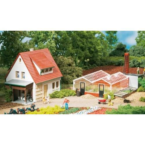 Auhagen 1 87 ho jardinerie achat vente garage for Achat jardinerie