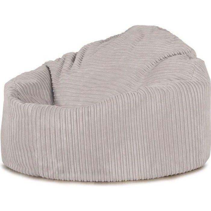 pouf poire petite mammouth cr me achat vente pouf poire cdiscount. Black Bedroom Furniture Sets. Home Design Ideas