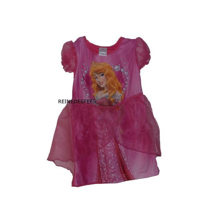 Jolie robe enfants t d guisement princesse aurore filles 3 4 ans rose la belle au bois - Deguisement princesse aurore ...