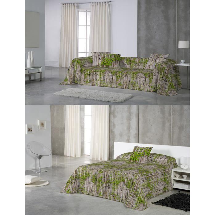 euromoda jet de canap couvre lit ca as 280x260 achat vente jet e de lit boutis. Black Bedroom Furniture Sets. Home Design Ideas