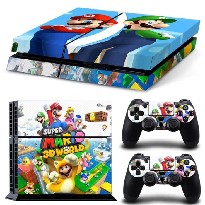 Mario Games For Ps3 : Jwmall super mario ps sticker skin stickerbomb