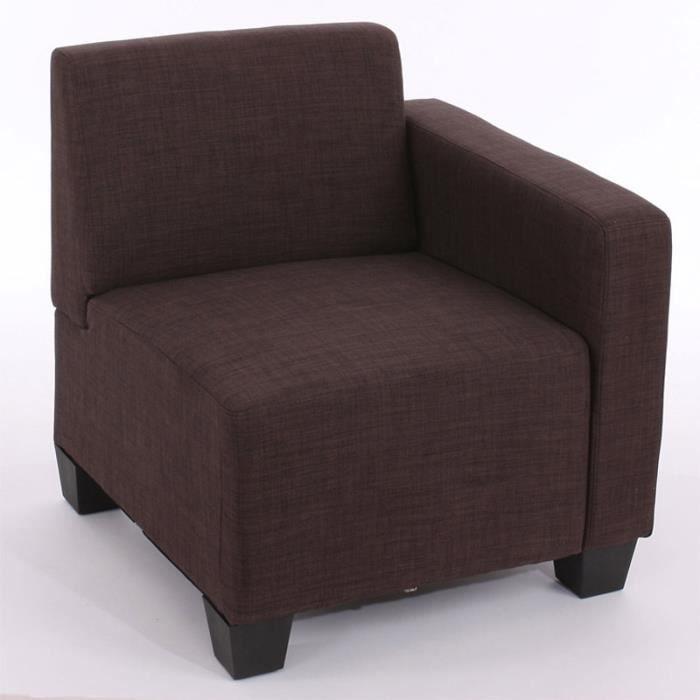 canap partie modulaire c t droit avec accoudo achat vente canap sofa divan cdiscount. Black Bedroom Furniture Sets. Home Design Ideas