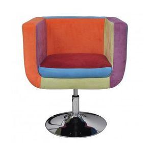 fauteuil multi couleur achat vente fauteuil multi couleur pas cher les soldes sur. Black Bedroom Furniture Sets. Home Design Ideas