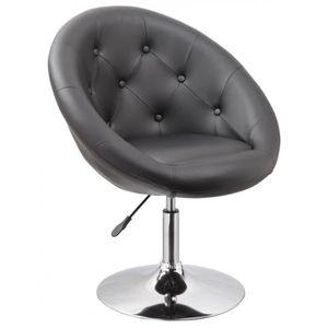 Fauteuil pivotant achat vente fauteuil pivotant pas cher cdiscount - Fauteuil pivotant gris ...