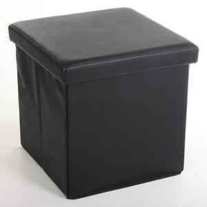 Coffre fauteuil achat vente coffre fauteuil pas cher cdiscount - Housse pour pouf carre ...