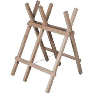 TRÉTEAU Chevalet de sciage bois - 3 branches - Haut. 75 cm