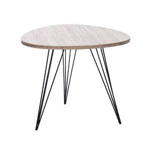 table basse pied bois achat vente table basse pied bois pas cher cdiscount. Black Bedroom Furniture Sets. Home Design Ideas