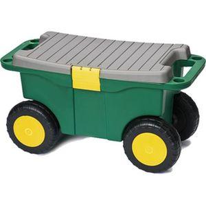 Brema chariot de jardin plastique 140690 achat vente for Chariot de jardin 2 roues