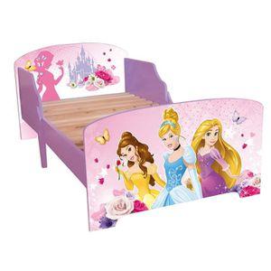 lit enfant fille 90x190 achat vente lit enfant fille 90x190 pas cher cdiscount. Black Bedroom Furniture Sets. Home Design Ideas