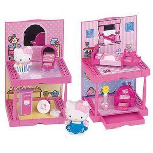 Maison hello kitty jouet achat vente jeux et jouets - Maison de poupee hello kitty ...