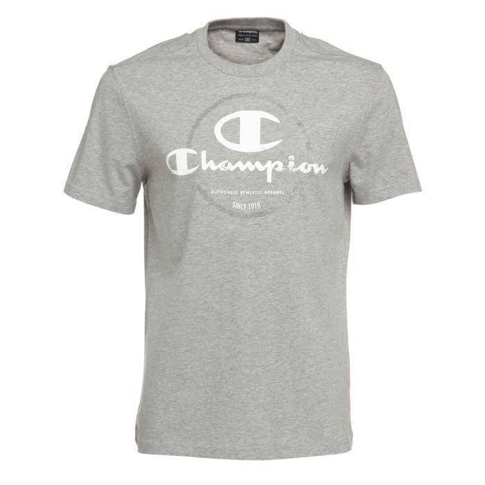 champion t shirt homme gris achat vente t shirt. Black Bedroom Furniture Sets. Home Design Ideas