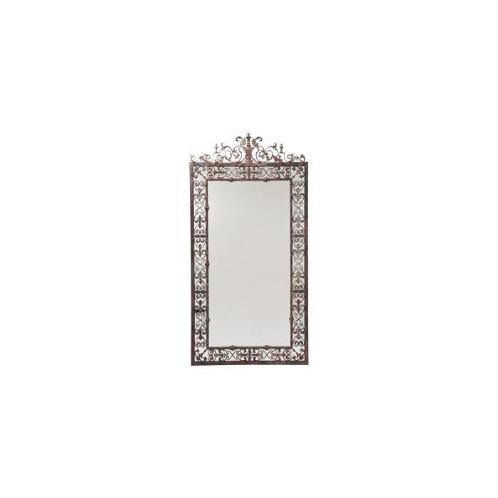 Mirror lustgarten 207x106cm kare design achat vente for Mirror 700 x 700