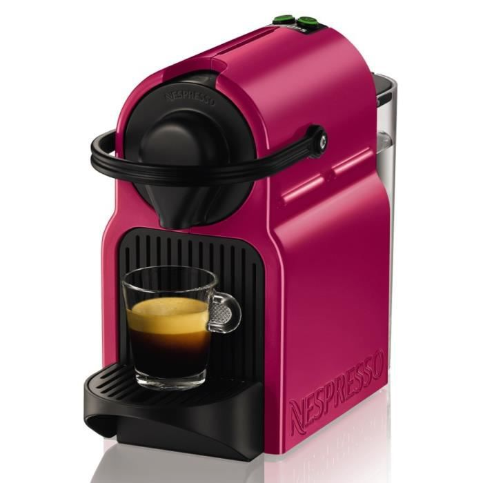 krups yy2289fd machine expresso inissia fushia nespresso achat vente machine caf. Black Bedroom Furniture Sets. Home Design Ideas