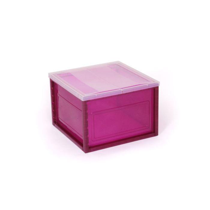 cube de rangement inno violet achat vente petit rangement cube de rangement inno vi. Black Bedroom Furniture Sets. Home Design Ideas