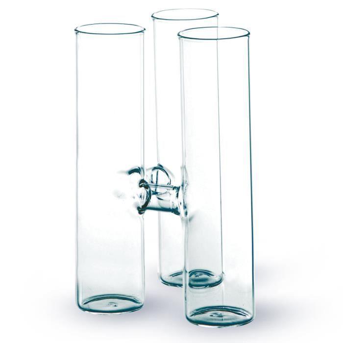 Vase En Verre Pas Cher #14: ... Awesome Vase En Verre Pas Cher #8: VASE - SOLIFLORE Vase Triple (h ...