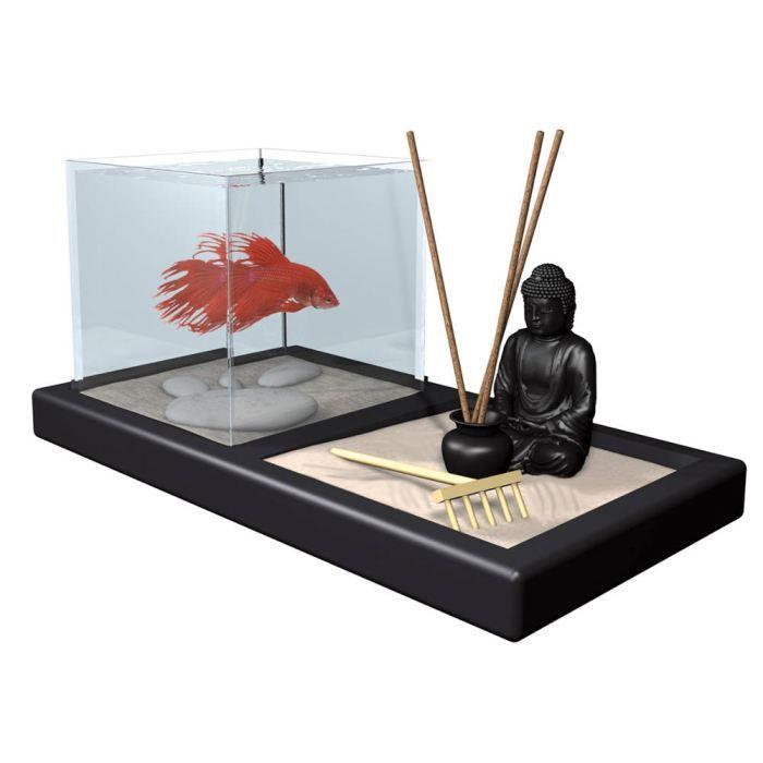 Aquarium d co bouddha achat vente for Achat aquarium rond