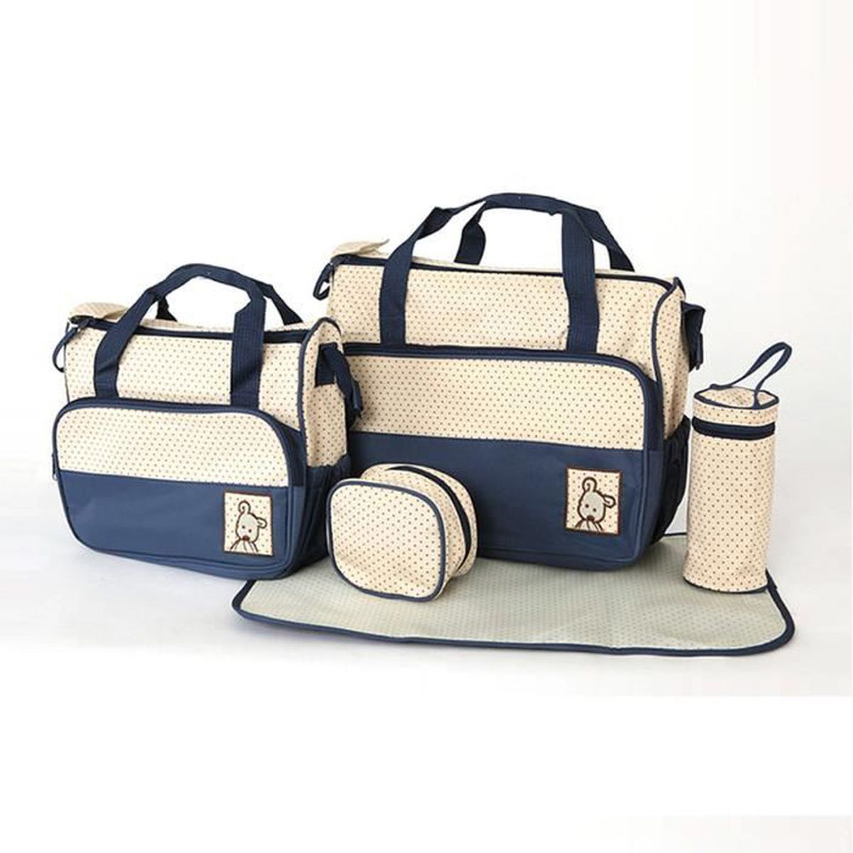 sac a langer bleu marine achat vente sac a langer bleu. Black Bedroom Furniture Sets. Home Design Ideas