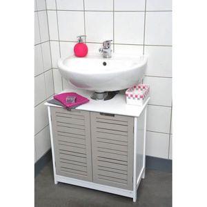 Meuble sous lavabo salle de bain achat vente meuble - Meuble de salle de bain sous lavabo ...